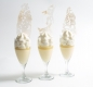 Preview: Dessert in glass, with green tea foam