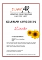 "Preview: Pastry seminar gift voucher ""Thank You"" a sweetART"