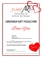 "Preview: Pastry seminar gift voucher ""I Love You"" at sweetART-1"