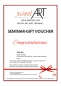 "Preview: Pastry seminar gift voucher ""Congratulations"" at sweetART -1"