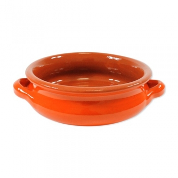 6 Terracotta bowls in orange - nickel free von sweetART
