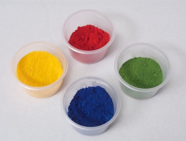 Fat colour, edible 4 piece Set blue, red, yellow, green at sweetART