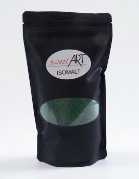 Isomalt sugar - Perls 500 g Green at sweetART
