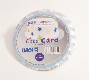 Cake slices 12,7 cm silver at sweetART