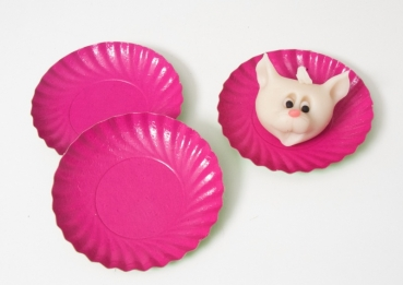 Pastry paper tartlet cup violett 9 cm 10 pieces at sweetART