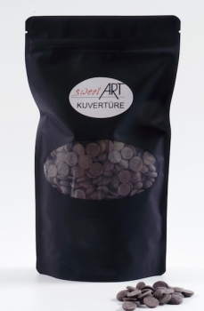 Callebaut dark chocolate 1 kg Callet, 54,5 % Cacao at sweetART