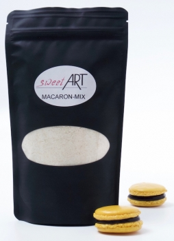 Macaron baking mix 250 g yellow at sweetART