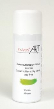 Cocoa butter velvet spray green 400 ml at sweetART