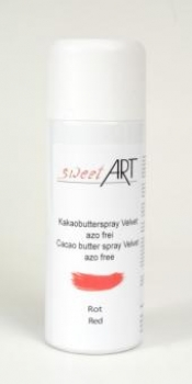 Cocoa butter velvet spray red 400 ml at sweetART