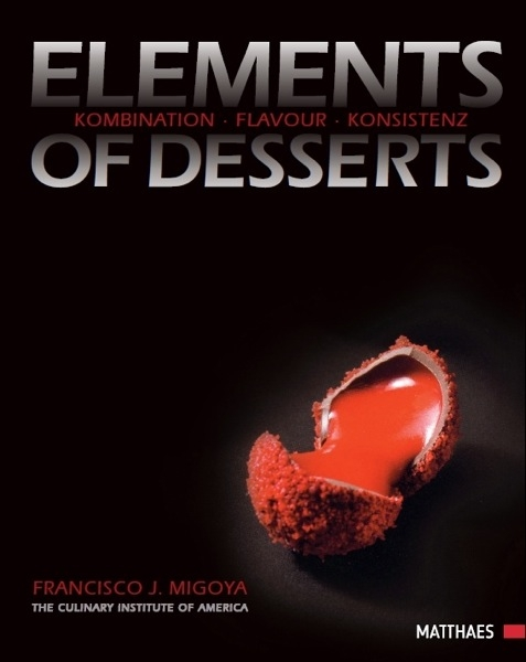 Book - Element of Desserts at sweetART
