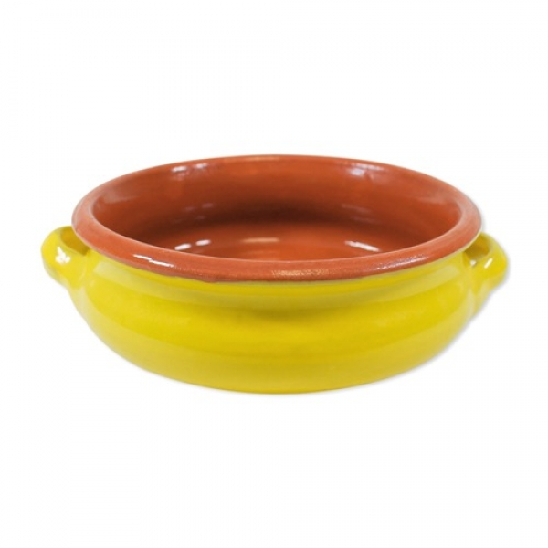 Terracotta bowl in yellow - nickel free at sweetART