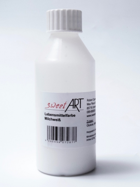 White food colour edible 50 ml at sweetART