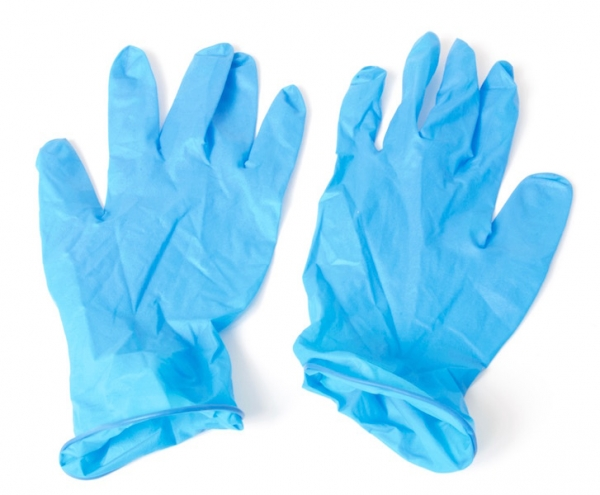 Nitrile Disposable Gloves 100 pieces, size S at sweetART