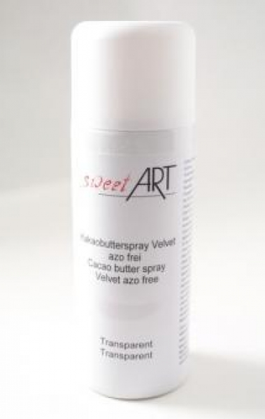 Cocoa butter velvet spray transparent 400 ml at sweetART