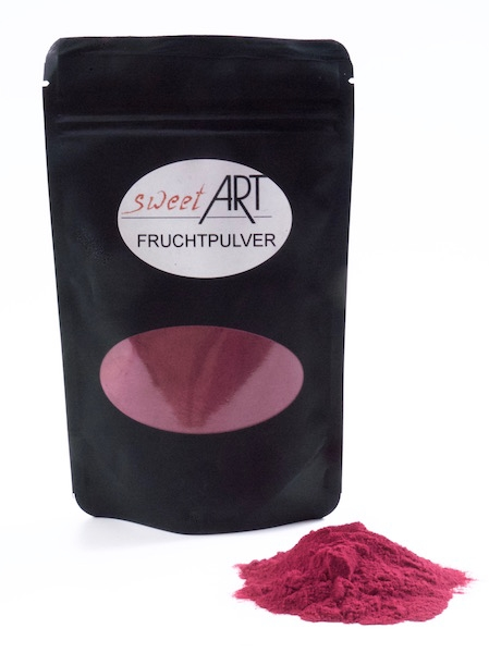Black current powder, freezer dried 200 g at sweetART