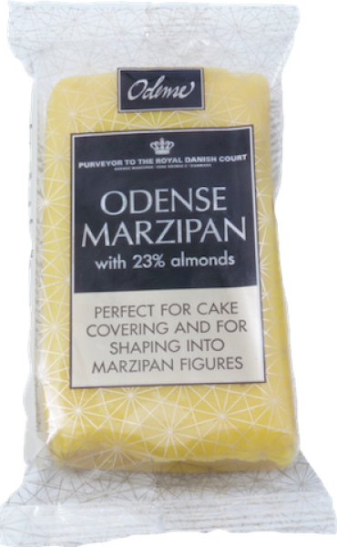 Marzipan 200 g - ready to roll yellow at sweetART
