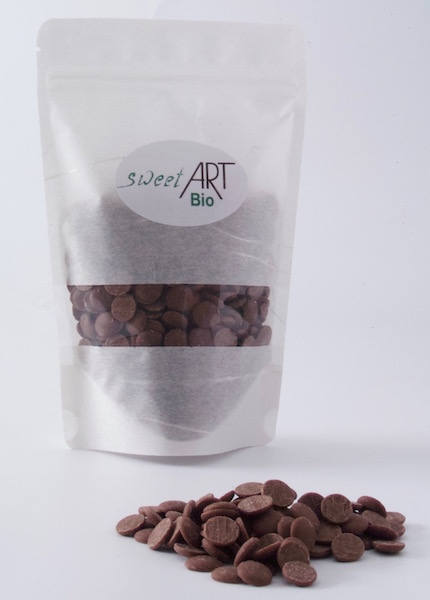 Organic chocolate Peru 250 g - 41% at sweetART