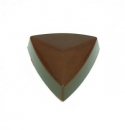 Praline mould triangular