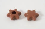 42 Milk Chocolate Stars - truffle shells with recipe suggestion
