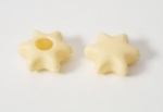 42 White Chocolate Stars - truffle shells with recipe suggestion