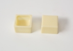 63 White Chocolate Shells square with recipe suggestion